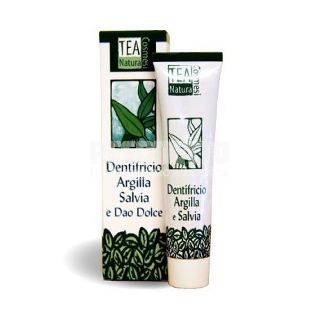 Dentifricio Argilla e Salvia 75ml - Tea Natura